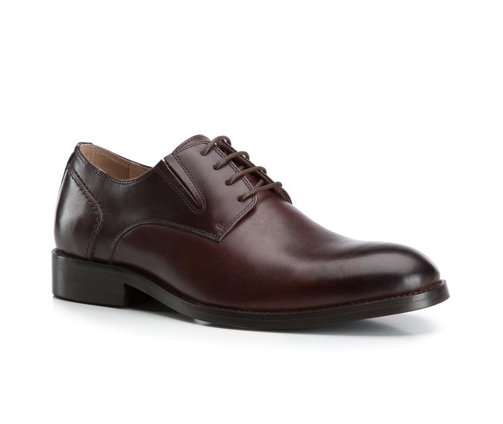 Обувь мужскаяТуфли мужские, выполнены по технологии Hand Made из натуральной итальянской кожи наивысшего качества.  Подошва сделана из качественного синтетического материала. Классическая модель идеально подчеркнет элегантный  образ. натуральная кожа  натуральная кожа синтетический материал<br><br>секс: мужчина<br>Цвет: коричневый<br>Размер EU: 42<br>материал:: Натуральная кожа<br>примерная высота каблука (см):: 3