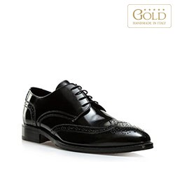 Men's shoes, black, BM-B-584-1-43, Photo 1