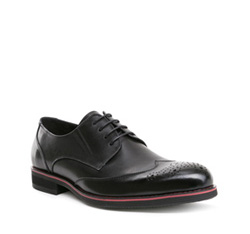 Men's shoes, black, 84-M-914-1-45, Photo 1