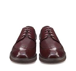 Buty męskie, wiśniowy, 85-M-906-2-42, Zdjęcie 1