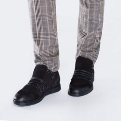 Buty męskie, czarny, 87-M-606-1-40, Zdjęcie 1