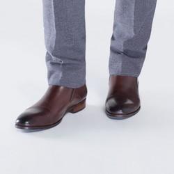 Buty męskie, brązowy, 87-M-826-4-42, Zdjęcie 1