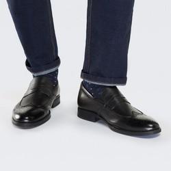 Buty męskie, czarny, 87-M-900-1-41, Zdjęcie 1