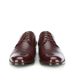 Buty męskie, bordowy, 87-M-909-2-44, Zdjęcie 1