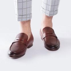Buty męskie, bordowy, 88-M-900-5-42, Zdjęcie 1