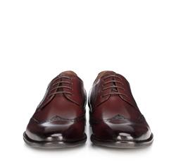 Buty męskie, bordowy, 89-M-904-2-42, Zdjęcie 1