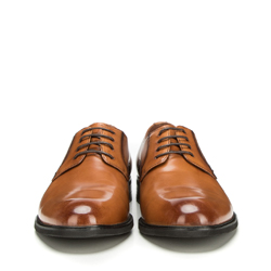 Men's shoes, light brown, 90-M-914-5-45, Photo 1