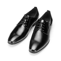 Buty do garnituru z lakierowanej skóry, czarny, 92-M-509-1-42, Zdjęcie 1