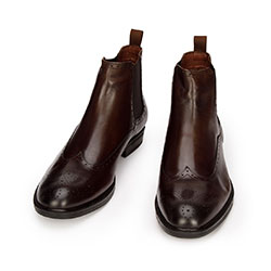Shoes, brown, 93-M-918-4-39, Photo 1