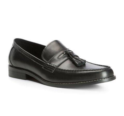 Buty męskie, czarny, 83-M-818-1-39, Zdjęcie 1