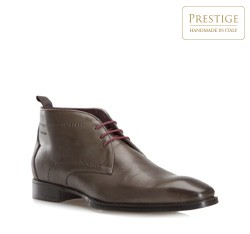 Buty męskie, szaro - brązowy, 79-M-089-8-45, Zdjęcie 1