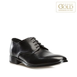 Men's shoes, black, BM-B-574-1-44, Photo 1