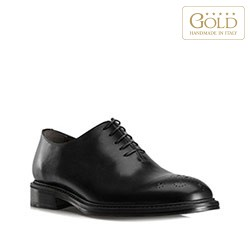 Buty męskie, czarny, BM-B-575-1-44_5, Zdjęcie 1