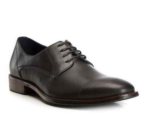 Buty męskie, czarny, 82-M-811-1-39, Zdjęcie 1