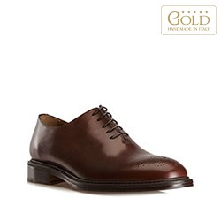 Buty męskie, brązowy, BM-B-575-4-46, Zdjęcie 1