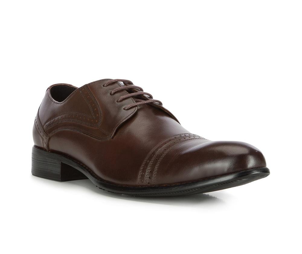 Обувь мужскаяТуфли мужские. Изготовленные по технологии Hand Made выполнены полностью из натуральной итальянской кожи наивысшего качества. Подошва  сделана из качественного синтетического материала. Эта модель безусловно, должна привлечь внимание мужчин, которые любят свободный городской стиль.<br><br>секс: мужчина<br>Цвет: коричневый<br>Размер EU: 44<br>материал:: Натуральная кожа<br>примерная высота каблука (см):: 3
