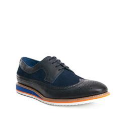 Men's shoes, navy blue, 84-M-911-7-40, Photo 1