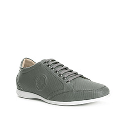 Men's shoes, grey, 84-M-928-8-40, Photo 1