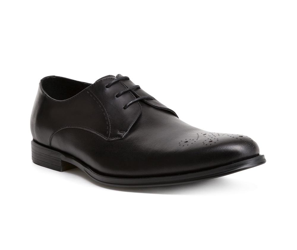 Обувь мужскаяТуфли мужские, выполнены по технологии Hand Made из натуральной итальянской кожи наивысшего качества.  Подошва сделана из качественного синтетического материала. Модель с роскошной отделкой с легкостью впишется в официальный образ каждого мужчины. натуральная кожа  натуральная кожа синтетический материал<br><br>секс: мужчина<br>Цвет: черный<br>Размер EU: 44<br>материал:: Натуральная кожа<br>примерная высота каблука (см):: 2,5