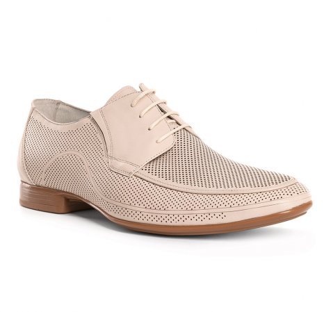 Buty męskie, jasny beż, 84-M-815-1-45, Zdjęcie 1
