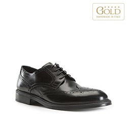 Buty męskie, czarny, BM-B-501-1-43, Zdjęcie 1