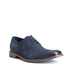 Men's shoes, navy blue, 84-M-813-7-39, Photo 1
