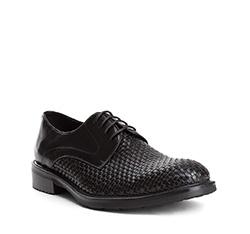 Men's shoes, black, 84-M-814-1-41, Photo 1