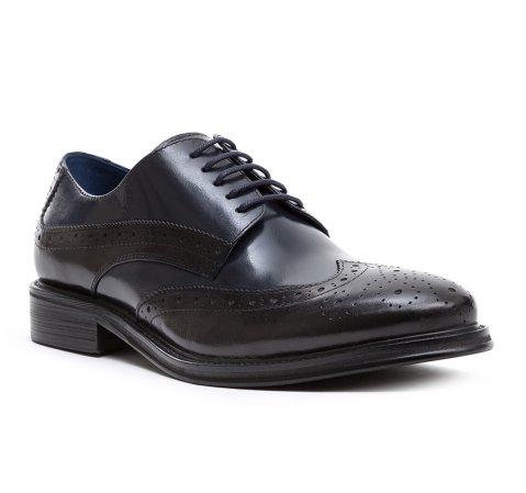 Buty męskie, czarny, 84-M-803-1-44, Zdjęcie 1