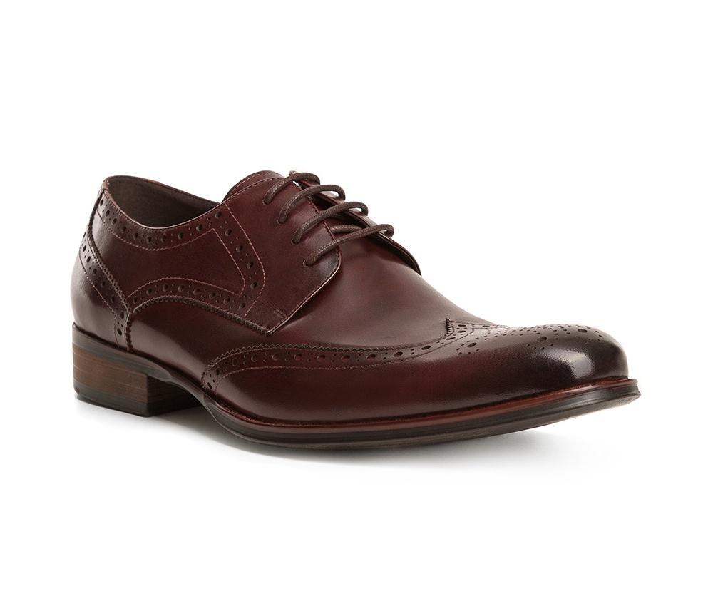Обувь мужскаяТуфли мужские. Изготовленные по технологии Hand Madeи выполнены полностью из натуральной итальянской кожи наивысшего качества. Подошва  сделана из качественного синтетического материала. Идеальная модель для современного мужчины.<br><br>секс: мужчина<br>Цвет: коричневый<br>Размер EU: 42<br>материал:: Натуральная кожа<br>примерная высота каблука (см):: 3