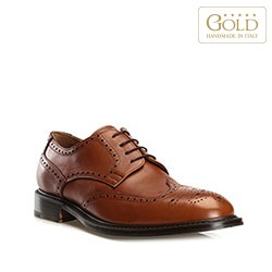Buty męskie, brązowy, BM-B-501-5-45_5, Zdjęcie 1