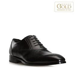 Buty męskie, czarny, BM-B-571-1-45_5, Zdjęcie 1