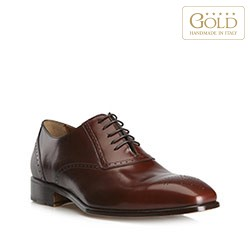 Buty męskie, brązowy, BM-B-571-4-44_5, Zdjęcie 1