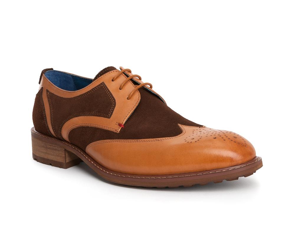 Обувь мужскаяТуфли мужские, выполнены по технологии Hand Made из натуральной итальянской кожи наивысшего качества.  Подошва сделана из качественного синтетического материала. Изысканная  фактура делает модель  идеальным дополнением современного стиля. натуральная кожа  натуральная кожа синтетический материал<br><br>секс: мужчина<br>Цвет: коричневый<br>Размер EU: 45<br>материал:: Натуральная кожа<br>примерная высота каблука (см):: 3,5