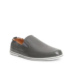 Men's shoes, grey, 84-M-924-8-41, Photo 1