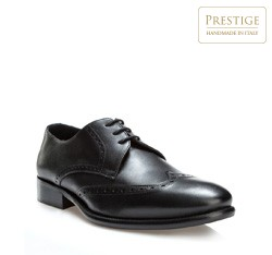 Buty męskie, czarny, 84-M-050-1-41, Zdjęcie 1