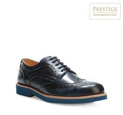Men's shoes, navy blue, 84-M-054-7-42, Photo 1