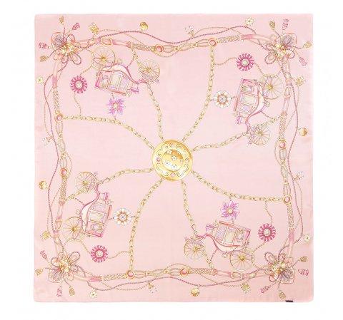 Chusta damska, różowy, 86-7D-S22-X06, Zdjęcie 1