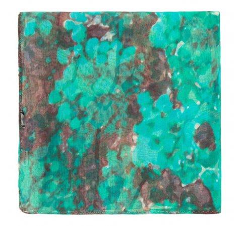 Chusta damska, zielono - brązowy, 87-7D-S43-X1, Zdjęcie 1