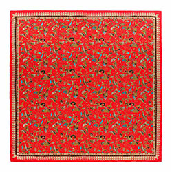 Chusta damska, czerwony, 88-7D-S31-X5, Zdjęcie 1