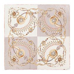 Chusta damska, różowo - złoty, 88-7D-S31-X9, Zdjęcie 1