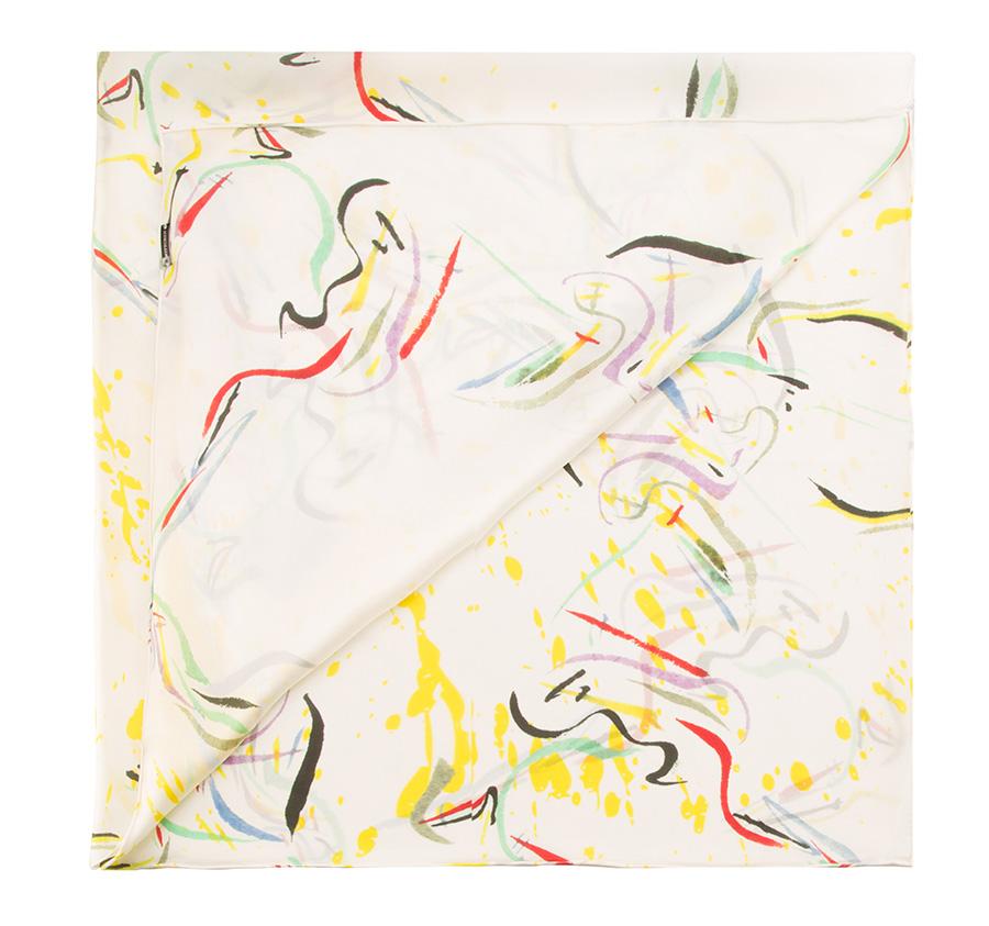 Chusta damska, biały, 85-7D-S21-X8, Zdjęcie 1