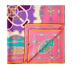 Chusta damska, różowo - fioletowy, 84-7D-S23-X07, Zdjęcie 1
