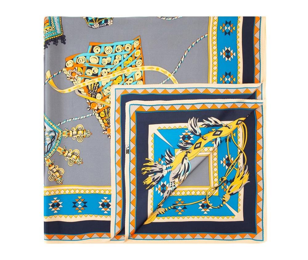 Платок женский Wittchen 84-7D-S31-X15, серыйШелковый платок для женщин, сделан чрезвычайно трудоемкой техникой прокатки края. Имеет знак качества материала KING SILK. Яркий, модный, шелковый шарф к тому же очень приятный на ощупь. Такой шарф никогда не будет лишним в гардеробе и придаст образу совершенно новый вид. Он идеально подойдет для стильной леди.<br><br>секс: женщина<br>Цвет: серый<br>материал:: Шелк<br>высота (см):: 108<br>ширина (см):: 108