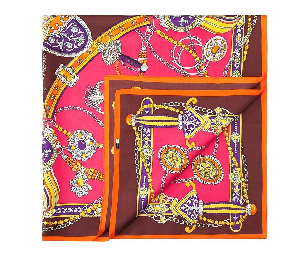 Платок женский Wittchen 84-7D-S22-X03, розовыйШелковый платок для женщин, сделан чрезвычайно трудоемкой техникой прокатки края. Имеет знак качества материала KING SILK. Яркий, модный, шелковый шарф к тому же очень приятный на ощупь. Такой шарф никогда не будет лишним в гардеробе и придаст образу совершенно новый вид. Он идеально подойдет для стильной леди.<br><br>секс: женщина<br>Цвет: розовый<br>материал:: Шелк
