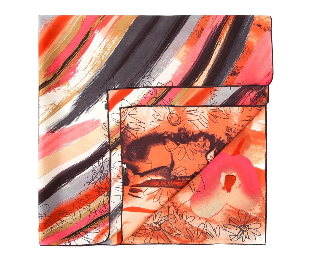 Платок женскийШелковый платок для женщин, сделан чрезвычайно трудоемкой техникой прокатки края. Имеет знак качества материала KING SILK. Яркий, модный, шелковый шарф к тому же очень приятный на ощупь. Такой шарф никогда не будет лишним в гардеробе и придаст образу совершенно новый вид. Он идеально подойдет для стильной леди.<br><br>секс: женщина<br>Цвет: черный<br>материал:: Шелк