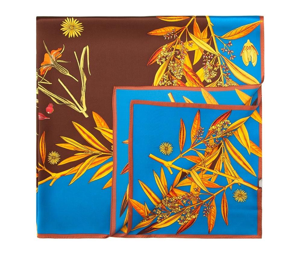 Платок женский Wittchen 84-7D-S25-X01, коричневый