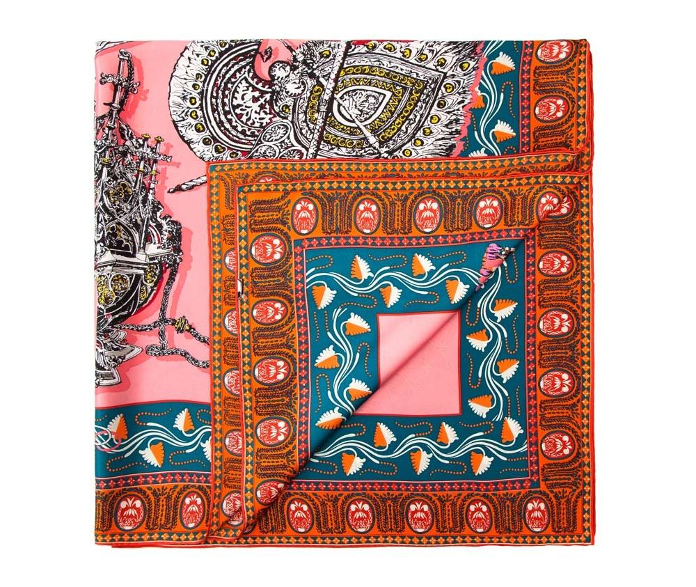 Платок женский Wittchen 84-7D-S31-X02, розовыйШелковый платок для женщин, сделан чрезвычайно трудоемкой техникой прокатки края. Имеет знак качества материала KING SILK. Яркий, модный, шелковый шарф к тому же очень приятный на ощупь. Такой шарф никогда не будет лишним в гардеробе и придаст образу совершенно новый вид. Он идеально подойдет для стильной леди.<br><br>секс: женщина<br>Цвет: розовый<br>материал:: Шелк