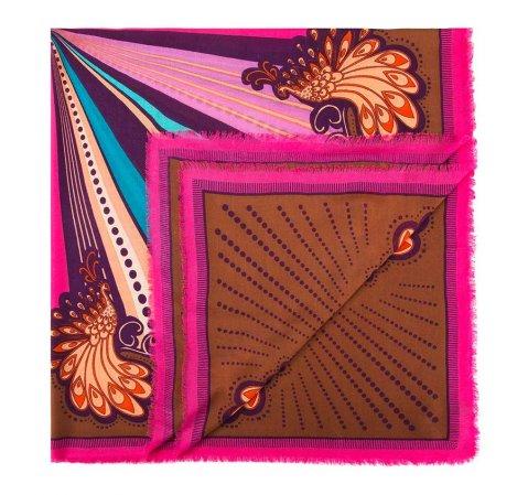 Chusta damska, różowy, 84-7D-W01-X02, Zdjęcie 1