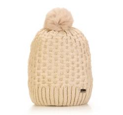 Women's hat, ecru, 85-HF-008-0, Photo 1