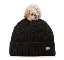 Women's hat, black, 85-HF-014-1, Photo 1